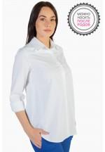 Блузка белая для беременных ..