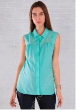 Блуза для беременных и кормящих ментол (ем 2107)..