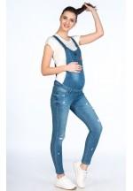 Комбинезон джинсовый для беременных синий (7181)..