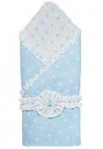 Конверт-одеяло на выписку с бантом