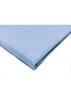 Пеленка фланелевая 90х120см голубая (FE 1244)