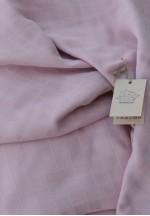 Пеленка детская муслин розовая 80*95..