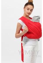 Слинг-шарф трикотажный красный (551)..