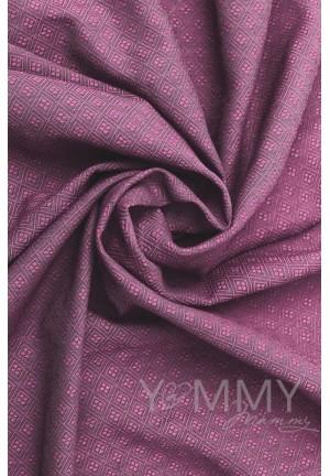 Слинг–шарф из шарфовой ткани Rose Agate (розовый/темно-серый) (551)