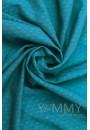 Слинг-шарф из шарфовой ткани Blue Biryuza (бирюзовый/темно-серый) (551)