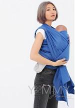 Слинг–шарф из шарфовой ткани Lazurite (васильковый/темно-серый) (551)..