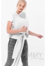 Слинг-шарф трикотажный серый меланж (551)..