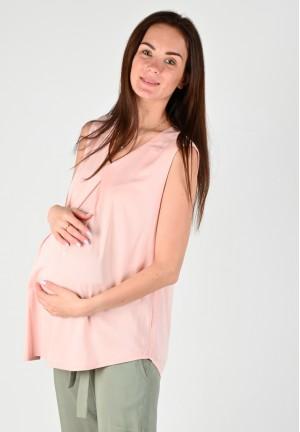 "Блуза ""Магнолия"" пудра для беременных"