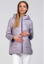 Куртка деми Амалия пр.клетка раббит для беременных 77a3fc89adb