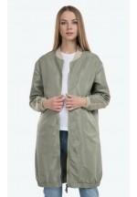 Куртка-бомбер Элин оливковый для беременных ..