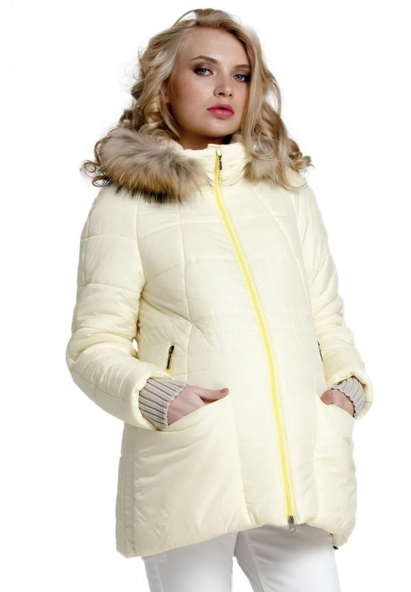 4bf523fee4a1 Куртка зимняя Майя жёлтая для беременных (031205) купить в Минске ...