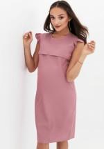 Платье розовая камея с