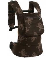 Рюкзак-переноска «Ящерицы на коричневом» Rz164 (Классик)