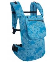 Рюкзак-переноска бирюзовый пэйсли (Классик 300)