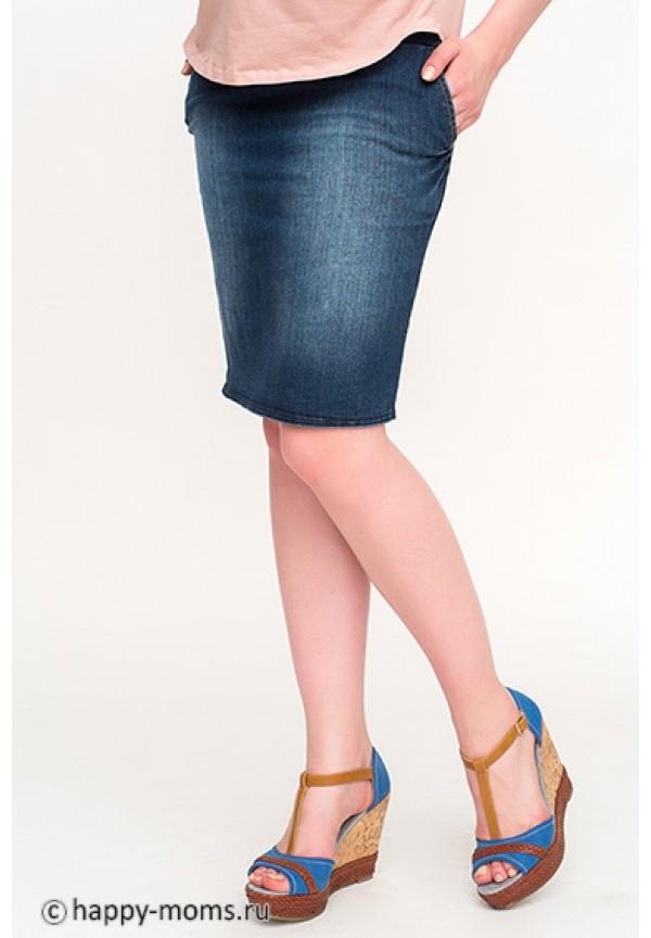 Юбка для беременных на живот джинсовая (00051) купить в Минске - Imum.by ca754769a01