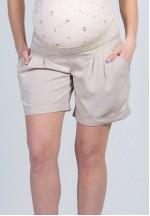 Шорты бежевые для беременных (25.1123.37)..