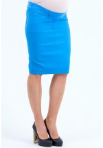 Юбка для беременных под живот голубая (463.8013.38)..
