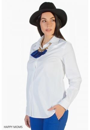 Блуза белая для беременных
