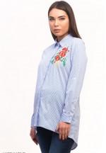 Блуза (рубашка) в полоску для беременных ..