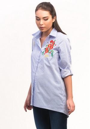 Блуза (рубашка) в полоску для беременных