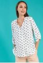 """Блуза """"Девика"""" котики для беременных и кормящих"""