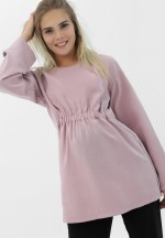 Блуза пудровая для беременных (2089)
