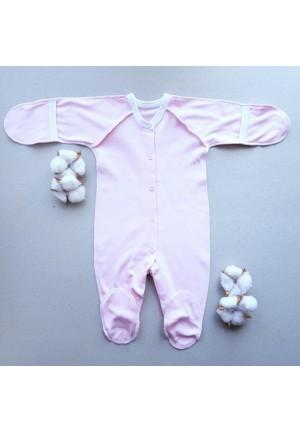 Комбинезон для новорожденного розовый (3009)