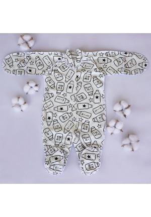 Комбинезон для новорожденного Милк беж. (3009)