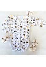 Боди-полукомбинезон для новорожденного Путешествие (3011)