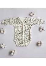 Боди-полукомбинезон для новорожденного Милк беж. (3020)