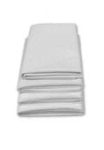 Наматрасник для детской кроватки непромокаемый на резинках 120х60см бе..