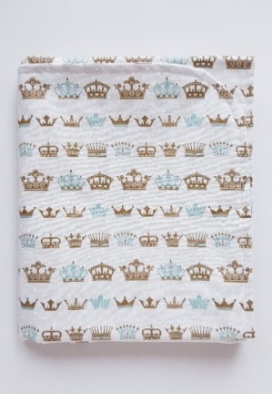 Пеленка непромокаемая Короны 75х60см
