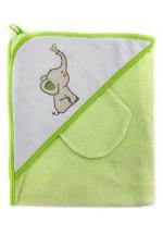 Комплект для купания (полотенце-уголок 100*100 с рисунком + рукавичка)..