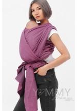 Слинг-шарф из шарфовой ткани Rose Agate (розовый/темно-серый) (551)..