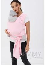 Слинг-шарф трикотажный розовый (551)..