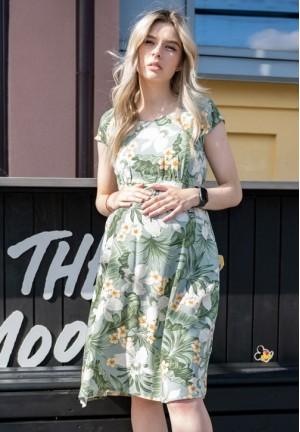 """Платье """"Джулия"""" тропики для беременных"""