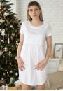 """Сорочка """"Нежность"""" бантики для беременных и кормящих"""