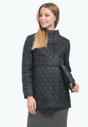 Куртка деми Амаранта черная для беременных