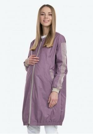 Куртка-бомбер Элин щербет для беременных