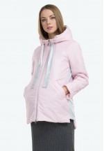 Куртка деми Камея розовая для беременных..