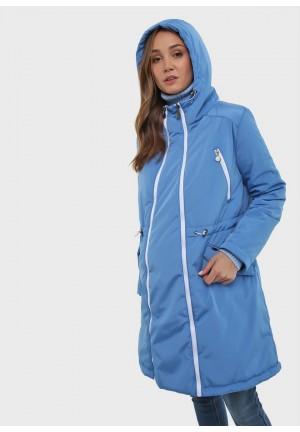 """Куртка деми 3в1 """"Мэрил"""" голубая для беременных и слингоношения"""