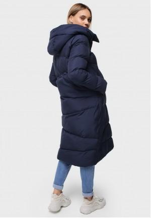 """Куртка 2в1 зимняя """"Грэйт"""" синяя для беременных"""